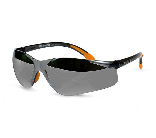 černooranžové brýle, sluneční