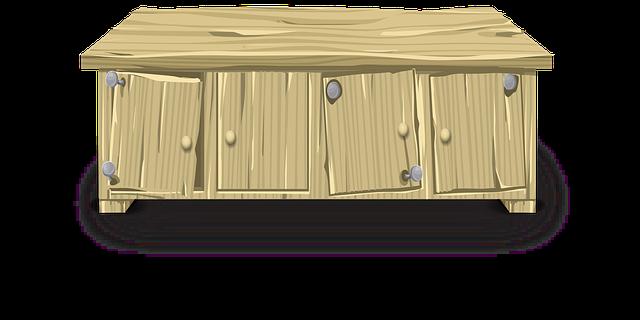 křivá skříňka
