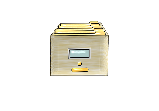 zásuvka na dokumenty