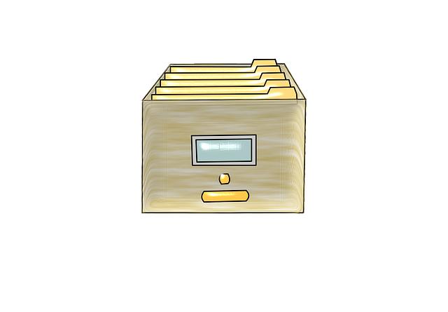 složka na dokumenty
