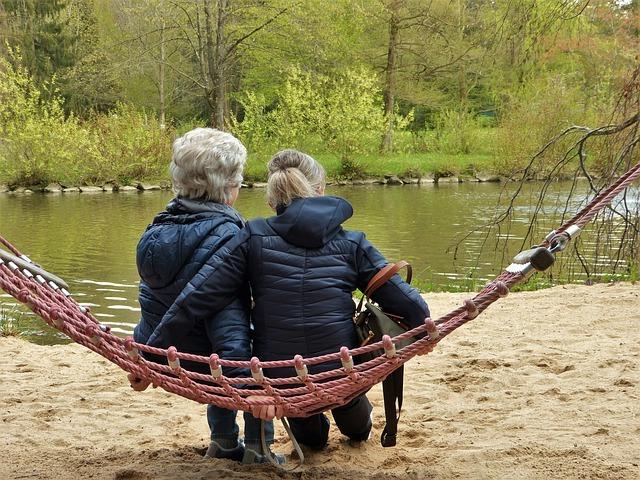 stárnoucí ženy