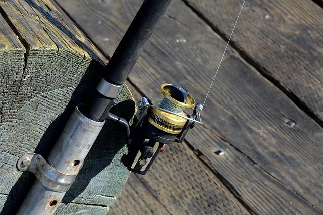 rybářský naviják
