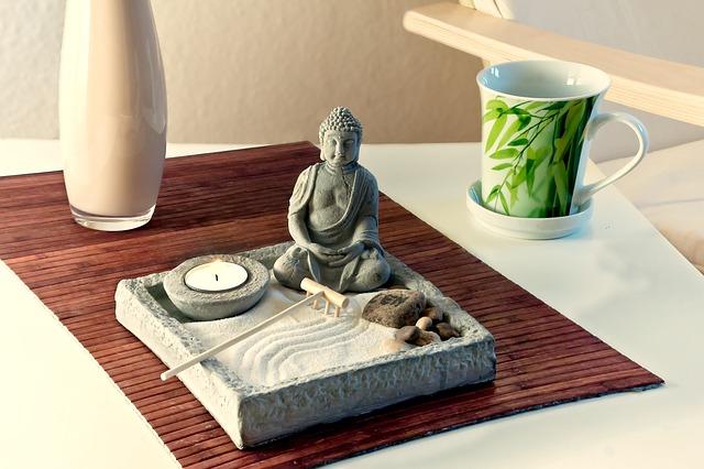 Zen zahrádka