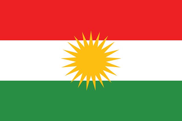kurdistánská vlajka