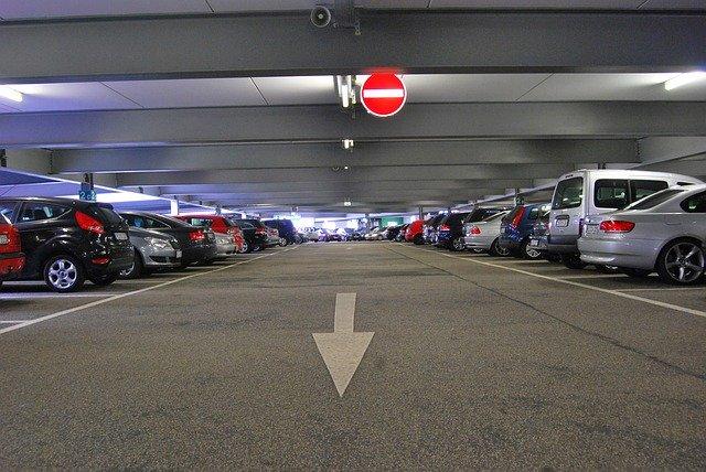 parkování v garáži